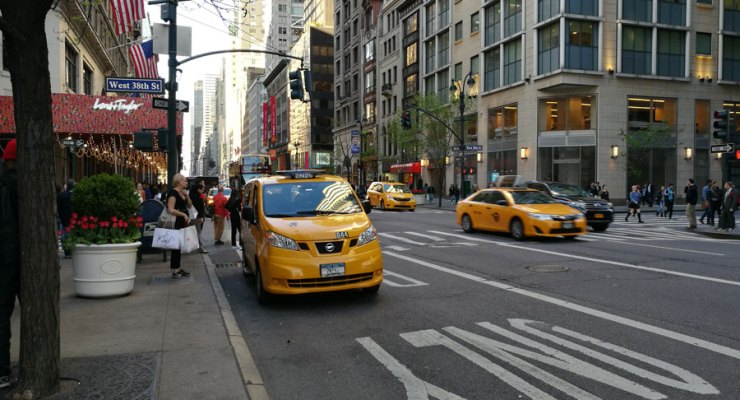 Nova Iorque, fotografada com o P9