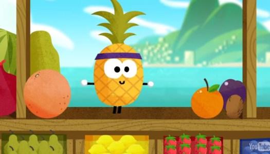 Novo jogo para smartphone: Doodle Fruit 2016
