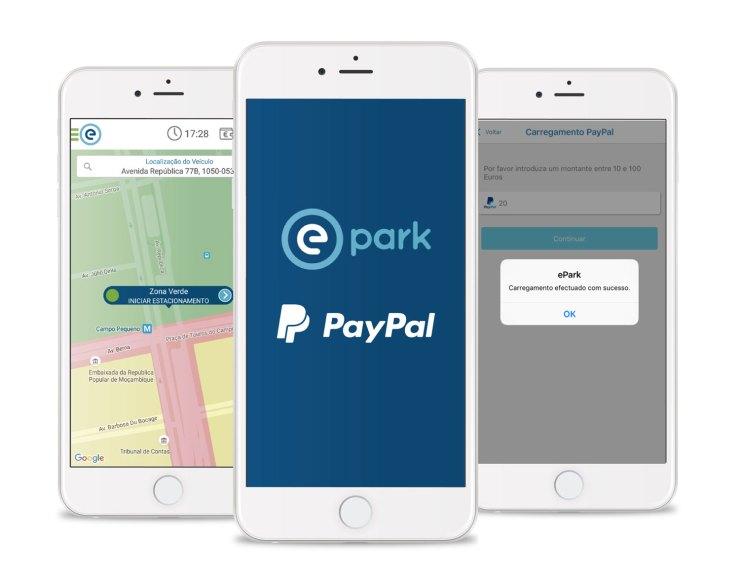 Emel e PayPal juntas para estacionamento sem moedas