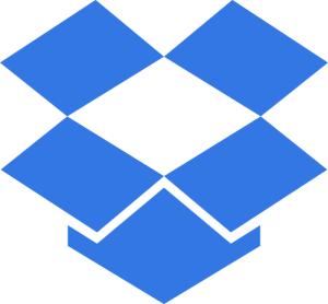 Apps de organização. DropBox