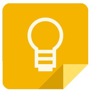 Apps de organização. Google Keep