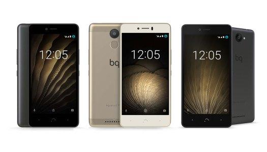 Os smartphones democráticos da BQ