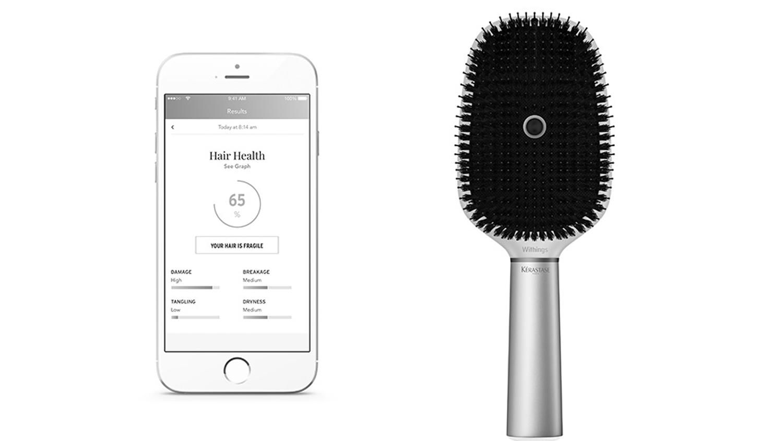 Kérastase Hair Coach, uma escova de cabelo inteligente