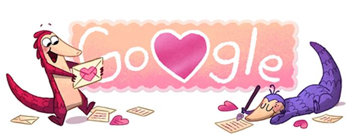 Novo Doodle: Um amor de jogo