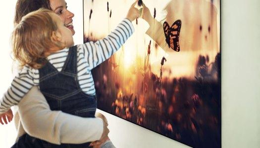 A TV mais fina do mundo