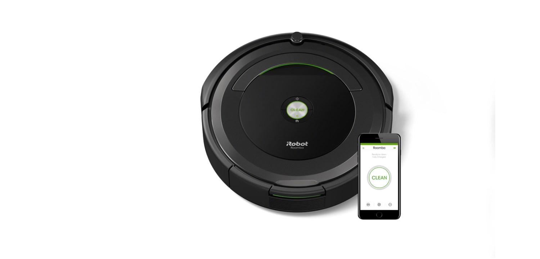 Limpeza fácil com aspirador Roomba 696, da iRobot