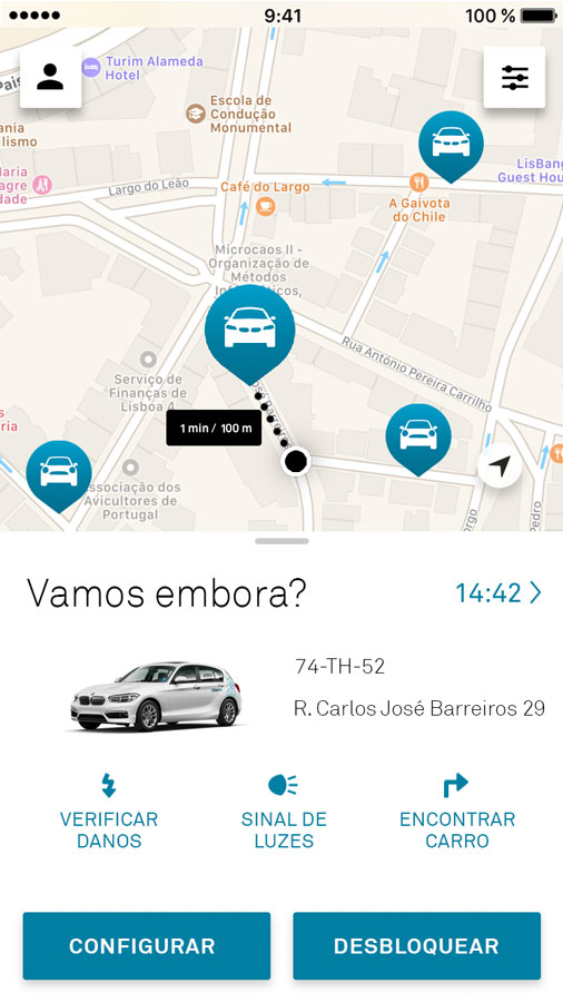 DriveNow, carsharing com BMWs e Minis