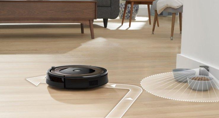 O novo robô aspirador Roomba 896, da iRobot