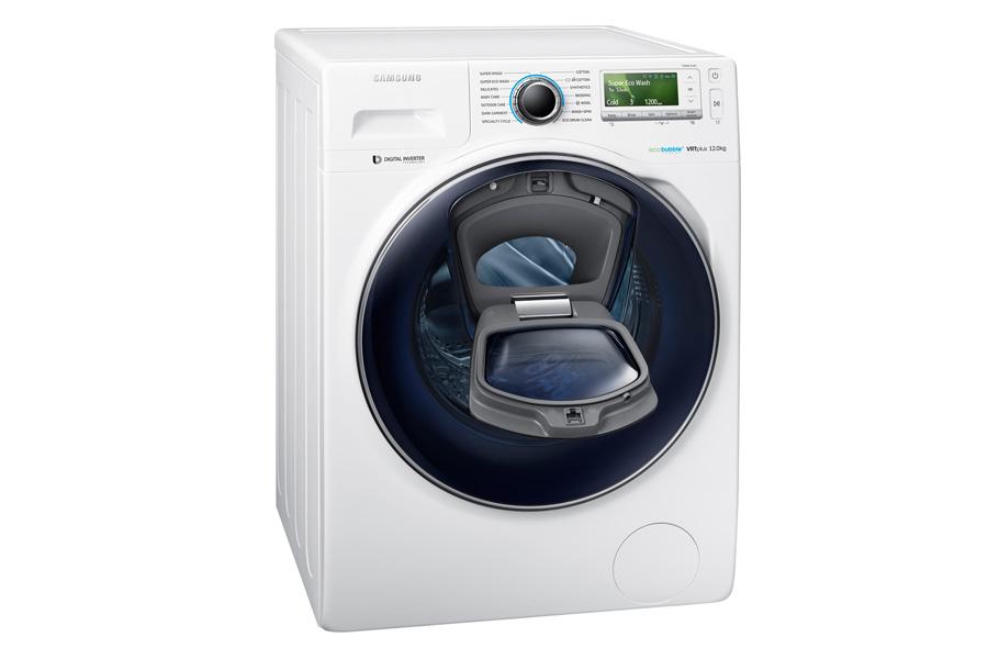 Eletrodomésticos para quem não tem tempo para nada. Máquina de lavar roupa Add Wash, da Samsung