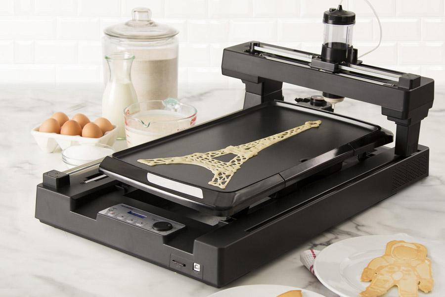 Eletrodomésticos para quem não tem tempo para nada. Pancake bot