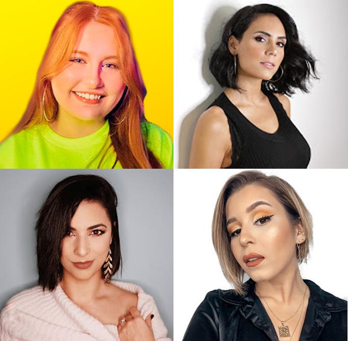 Youtube e Youtubers no feminino: Owhana, Inês Rochinha, Olívia Ortiz e Rita Serrano