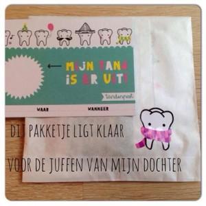 proefpakketje tandenpostkaart