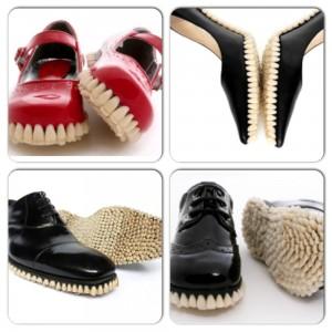 schoenen met tanden