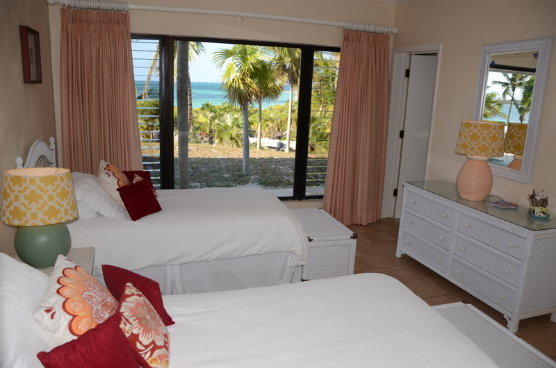 Two twin beds, ensuite bathroom