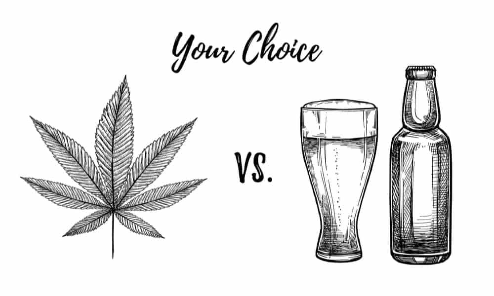 10 Reasons Why Weed Is Safer Than Alcohol • High Times