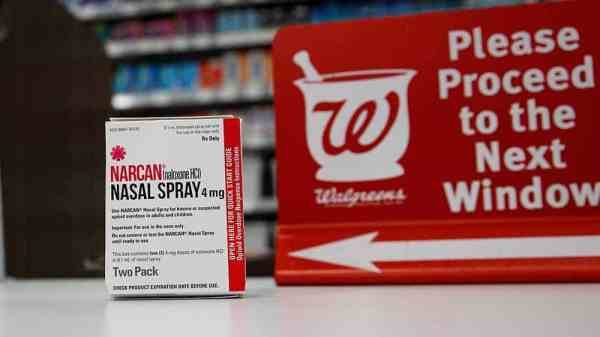 Walgreens To Sell Overdose Reversal Drug Without A Prescription