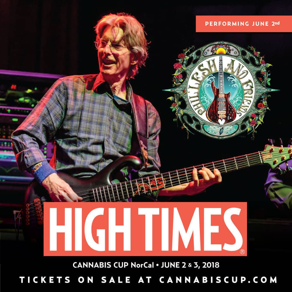 Phil Lesh to Headline NorCal Cannabis Cup Music Lineup