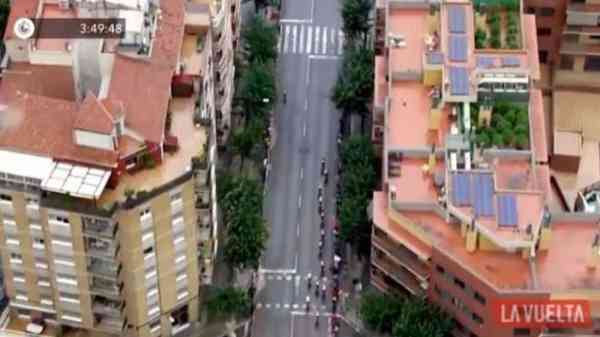 Helicopter Filming Spanish Cycling Race Discovers Marijuana Growing On Rooftop