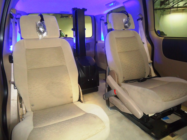2008 Chevrolet bruno seat Presidential Conversion Van