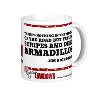 Hightower Lowdown yellowstripes_mug