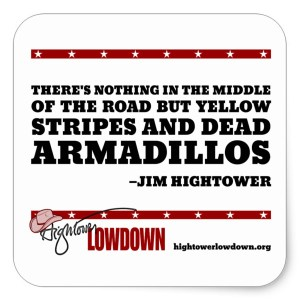 Hightower Lowdown yellowstripes_sticker