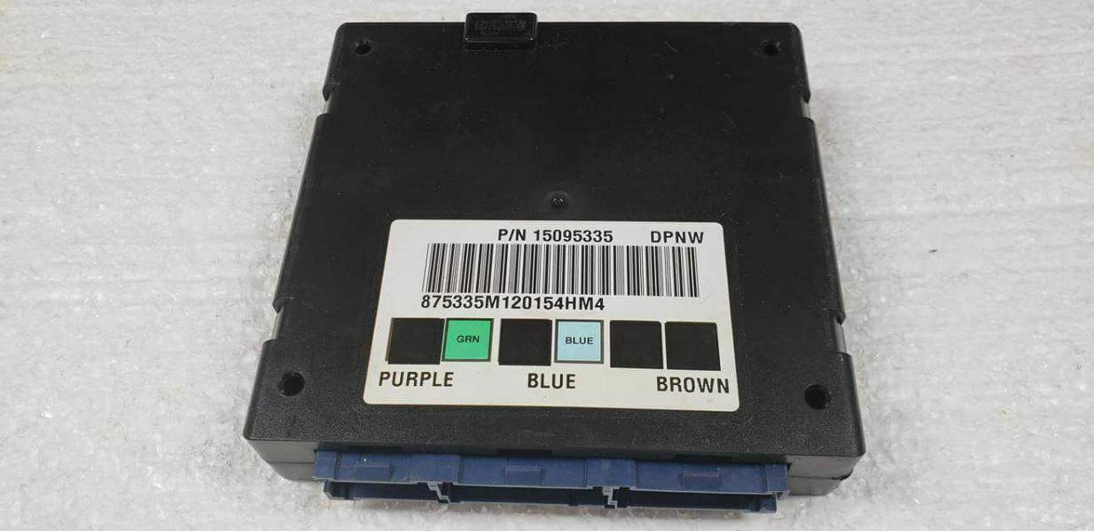 2002 Tahoe Yukon 4X4 BCM Programmed to VIN Body Control Module 15095335