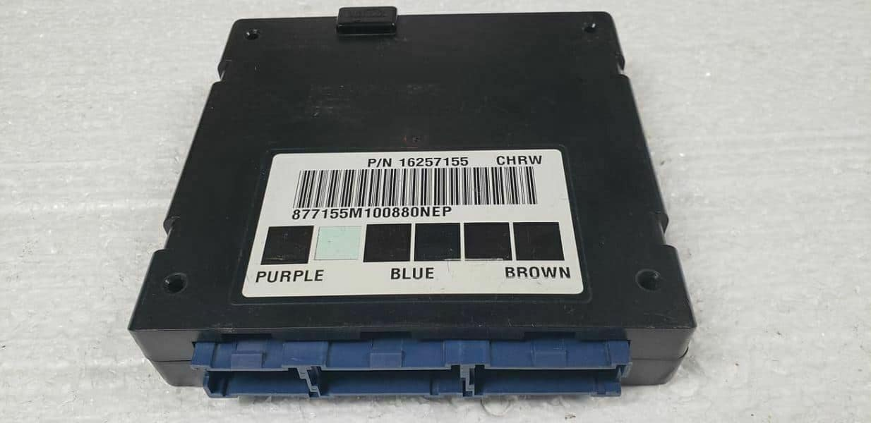 2000 Yukon Body Control Module Programmed To Your VIN Part No 19208538 BCM
