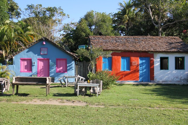 Village of Trancoso - Bahia - Brazil / highway brazil