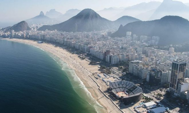Arena beach volleyball rio 2016
