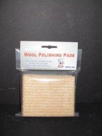 Magic Mix Rough Surface Wool Polishing Pads (4 - Pack)