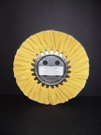 """8"""" Firm Treated Yellow Buffing Wheel"""