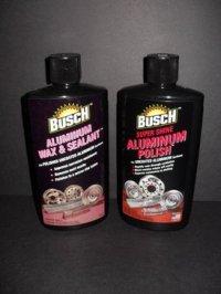 Busch Metal Polish Set (One Each, 16 oz. btls.)