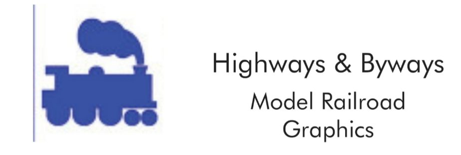 Highways and Byways Model Railroad Graphics and LED's, LLC
