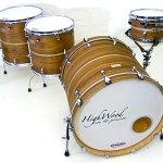 HighWood Custom Lite, Walnut Exotic Ply & Silver Sparkle inlay