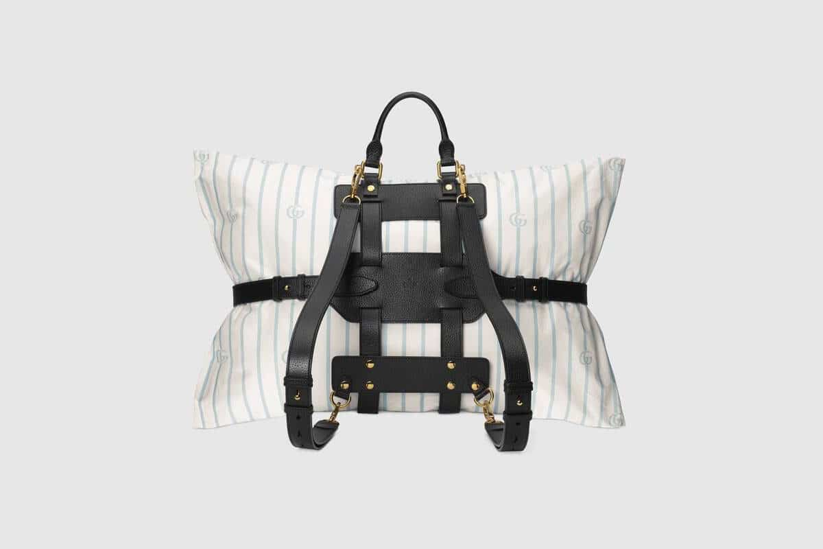 2500 euro gucci pillow backpack holder