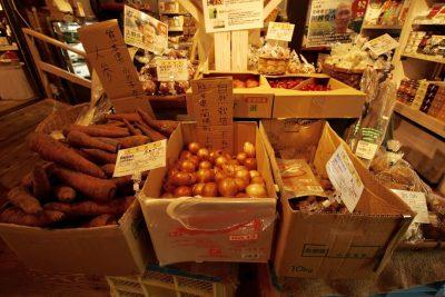 ベジルッツ野菜売場