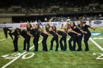 HGL Dance Team at AFL All Star Game 2013