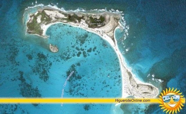 Cayo Herradura en la Isla de la Tortuga