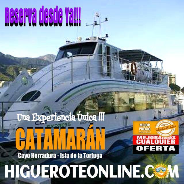 Catamarán para la Isla de La Tortuga