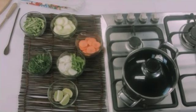 Cómo preparar Cojinúa rellena