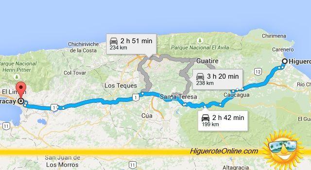 distancia_maracay_higuerote
