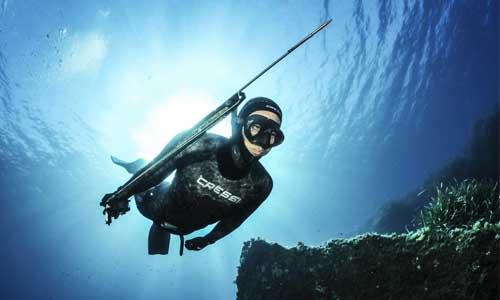 Reanudarán utilización de arpones para pesca submarina