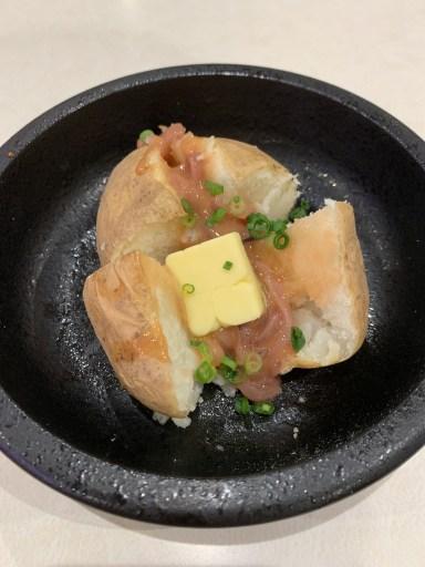 【ちょい飲みに最適!】はま寿司のじゃがバターいかの塩辛のせが最高ですよー!