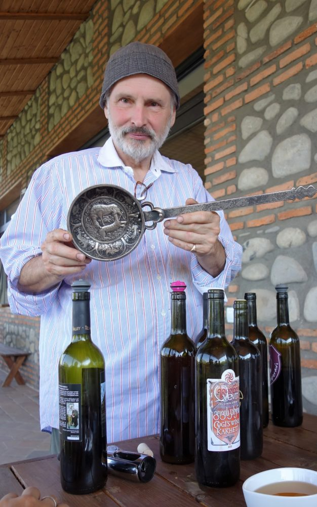 Paul, the owner of one of the numerous Kahketi wineries.