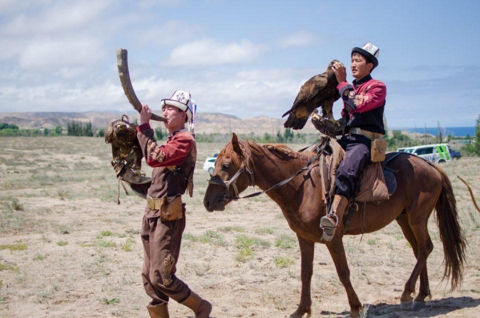 Co warto w Kirgistanie: sokolnicy