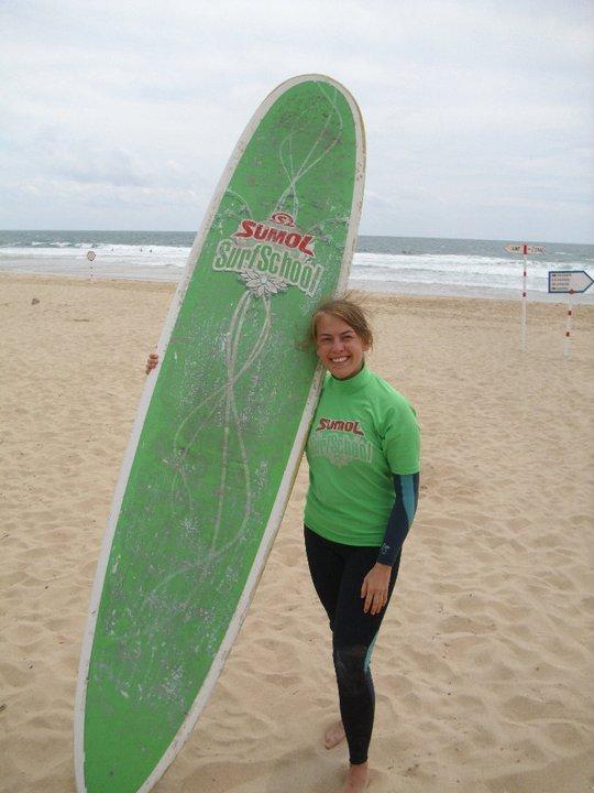 warto w Portugalii - surfing