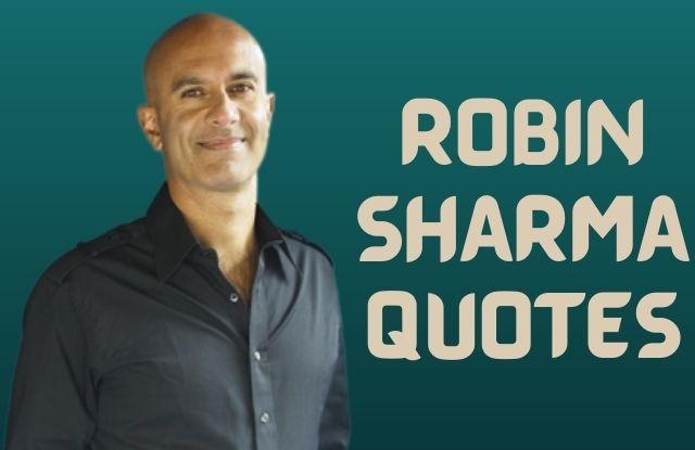 रॉबिन शर्मा के विचार - Robin Sharma Quotes in hindi