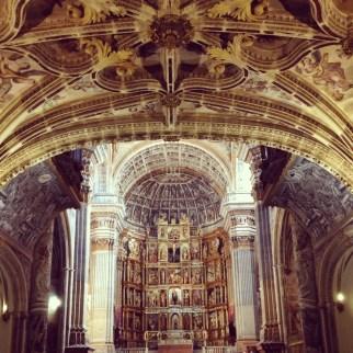 San Jerimon luostari Granadassa.