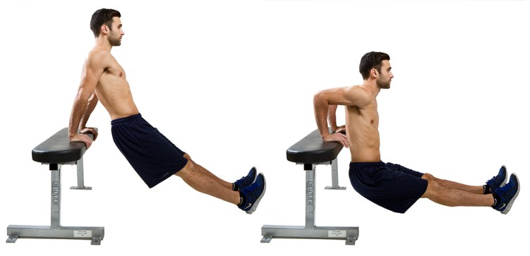 Image result for tricep dips