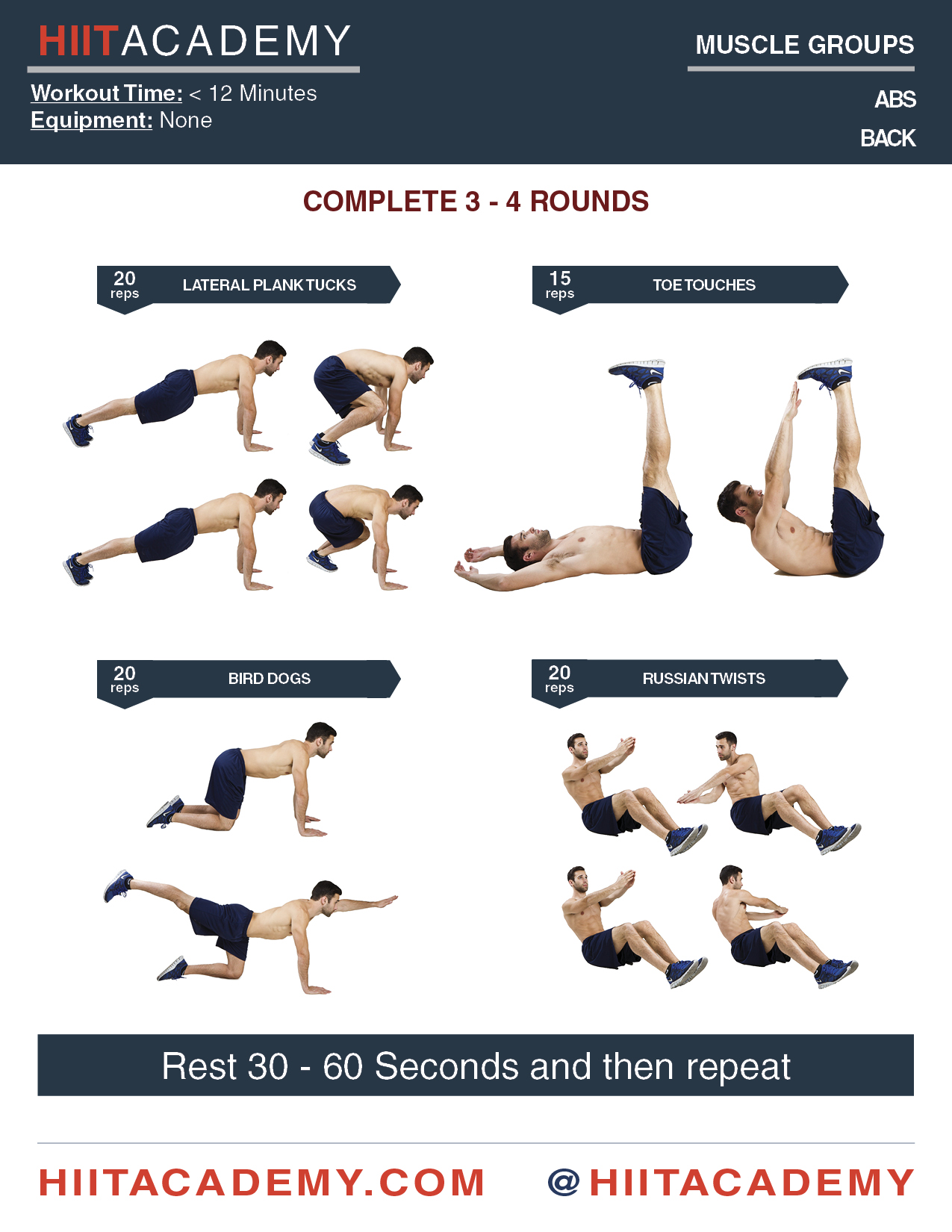 Killer Quick Ab Workout